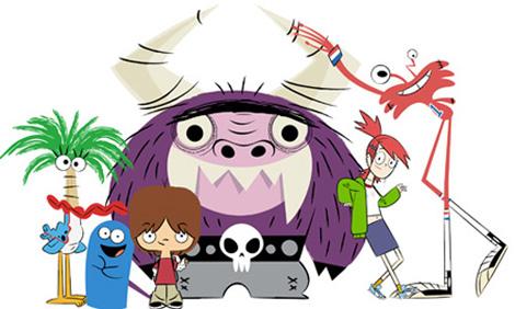 Imaginary friend cartoon characters